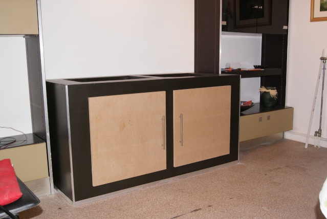 Fabrication d 39 un meuble en b ton cellulaire pour bac polyfon - Fabrication d un meuble en bois ...