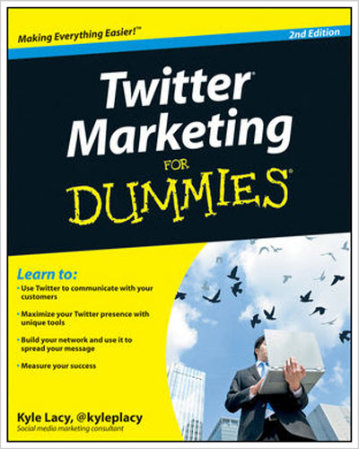 Wiley-Twitter Marketing For Dummies 2011