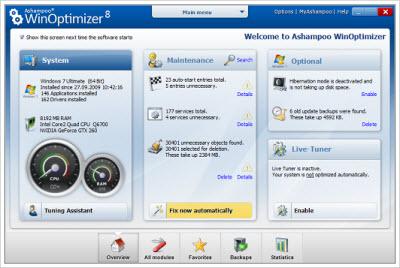Ashampoo WinOptimizer 8 v8.07