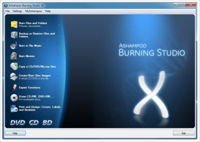 Ashampoo Burning Studio 10.v10.0.11 Incl Keygen