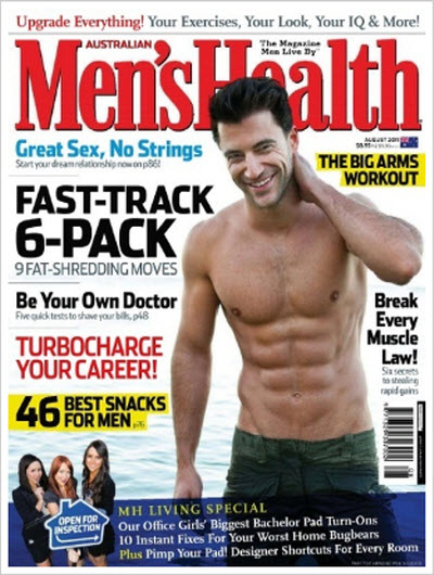 Men's Health – South Africa and Australia – August 2011