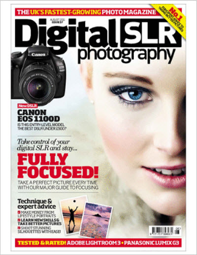 Digital SLR Photography – August 2011