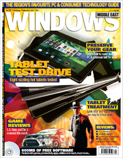 Windows Middle East – July 2011