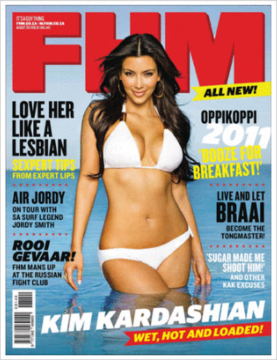 FHM South Africa – August 2011