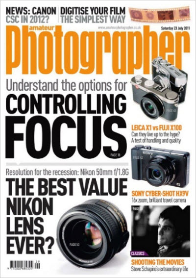 Amateur Photographer – 23 July 2011 (UK)