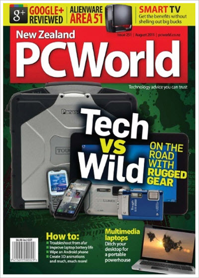 PC World – August 2011 (NZ)