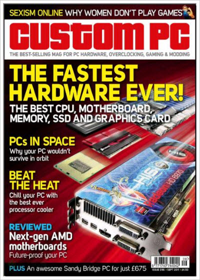 Custom PC UK – September 2011