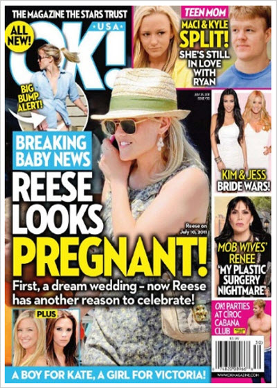 OK Magazine – 25 July 2011