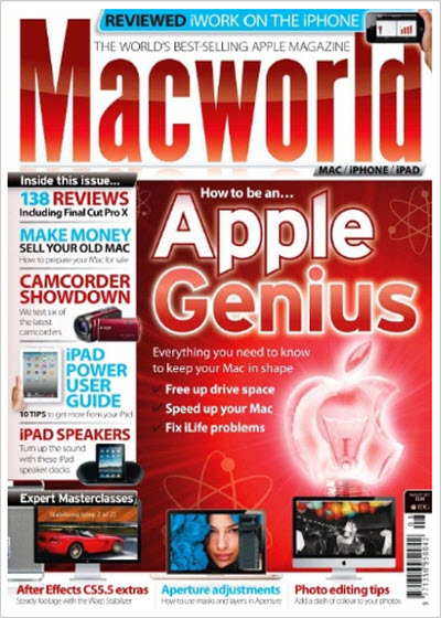 Macworld – August 2011 (UK)