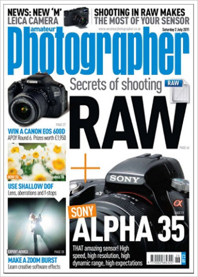 Amateur Photographer – 2 July 2011