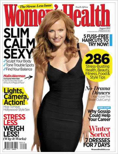 Women's Health South Africa – August 2011