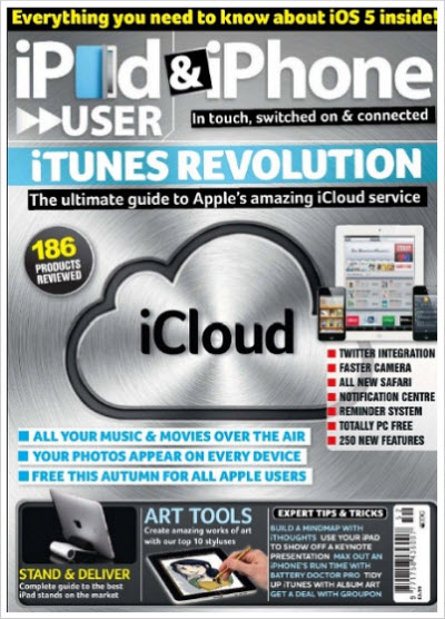 iPad & iPhone User – July/August 2011