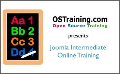 Open Source Training - Joomla Intermediate Course