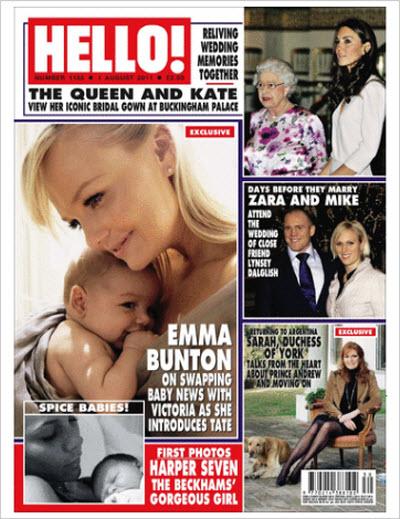 HELLO! magazine – 01 August 2011