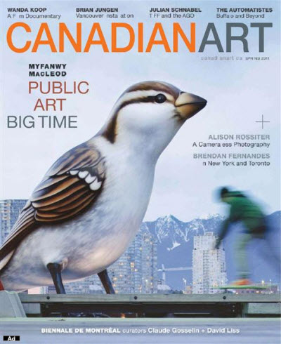 Canadian Art - Spring 2011
