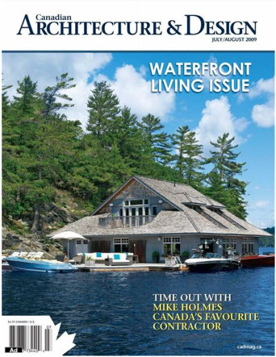 Canadian Architecture and Design - July/August 2009