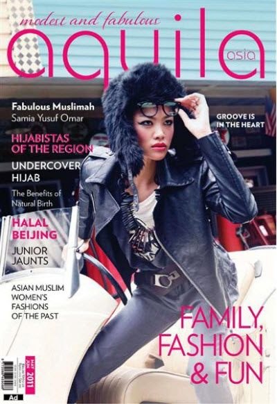 Aquila Asia - May/June 2011