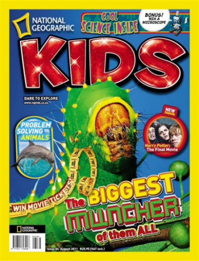 National Geographic KIDS - August 2011 / South Africa