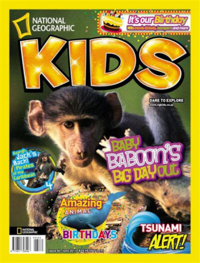 National Geographic KIDS - June 2011 / South Africa