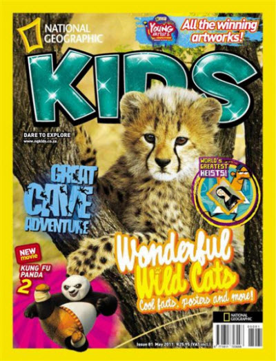 National Geographic KIDS - May 2011 / South Africa