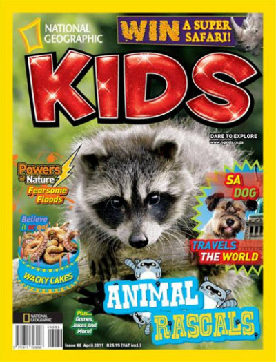 National Geographic KIDS - April 2011 / South Africa