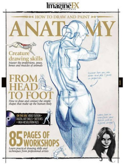 ImagineFX Presents - How to Draw and Paint Anatomy (2010)