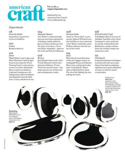 American Craft - August/September 2011