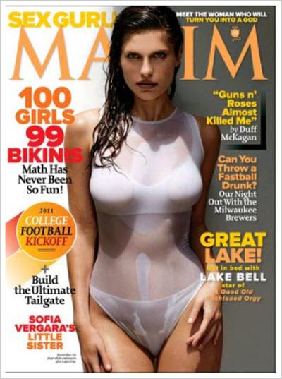 Maxim USA – August 2011