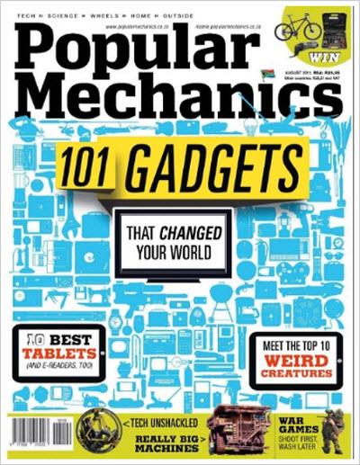 Popular Mechanics – August 2011 (SA)