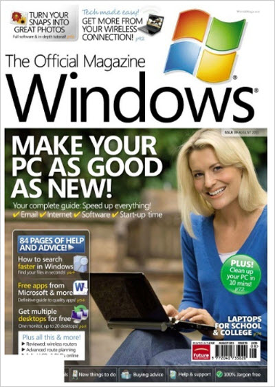 Windows: The Official Magazine – August 2011 (UK)