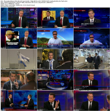 The Daily Show 2011 06 29 Tom Hanks 720p HDTV x264