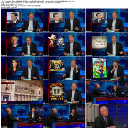 The Daily Show 2011 06 30 Bill Kristol 720p HDTV x264