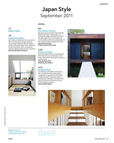Dwell - September 2011