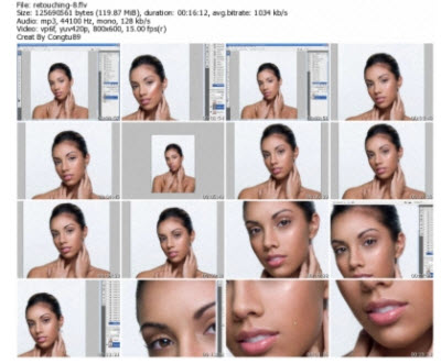 High End Industry Photoshop Retouching Techniques Series One DVDR