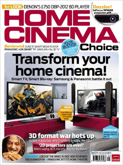 Home Cinema Choice – September 2011 (UK)