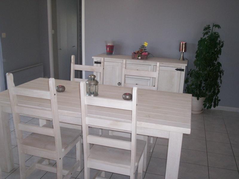 Quelle couleur de mur avec meubles de sejour en pin teinte for Meuble sejour blanc