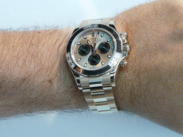 Daytona 116505 Vs Omega Sea Master Pink Gold Rolex Forums Rolex