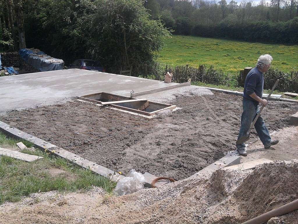Construction garage de 84m2 for Construction de garage
