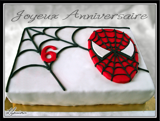 gateau anniversaire spiderman facile – home baking for you blog photo