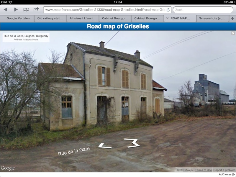 Old railway station for sale in burgundy for Railroad stations for sale