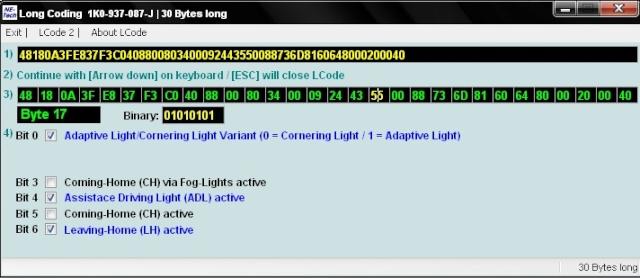 Vwvortex Com Vcds Mkvi Mk6 Platform Handy Coding Tweaks