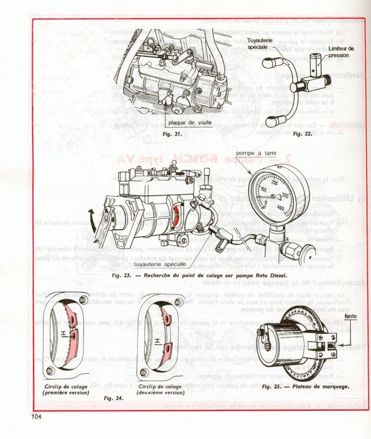 fuite tête hydraulique pompe injection lucas