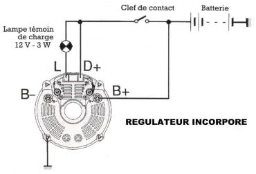 T21633 Mf 140 Restauration Electricite Regulateur De Tension