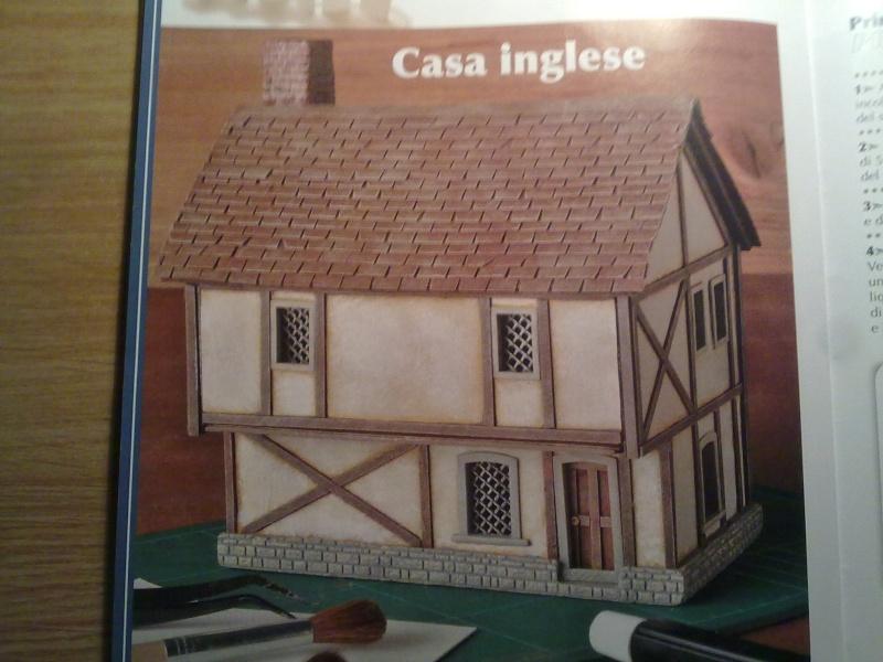 Casa inglese scala 1 48 for Quanto sarebbe stato costruire una casa