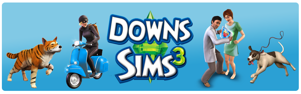Downs Sims 3