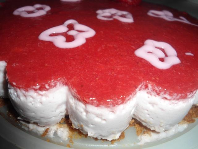 Recette de bavarois aux fraises et sp culoos for Miroir aux fraises