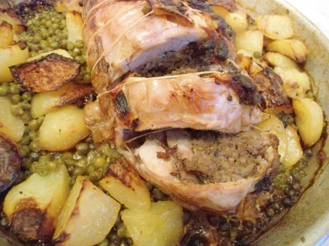 Roti d 39 agneau a l 39 orientale a la bonne bouffe - Roti d agneau cuisson ...