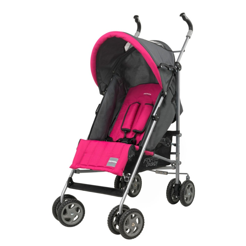 poussette canne formula baby rose