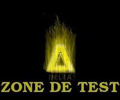 Zone de test DELTA