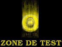 Zone de test THETA